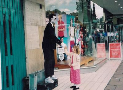 Mime on the Royal Mile, Edinburgh