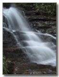 Closeup of Becky Branch Falls