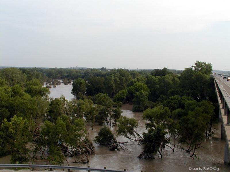 San Antonio River at I37