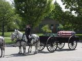 John Pierce Funeral, Arlington National Cemetery, Virginia 5/3/02