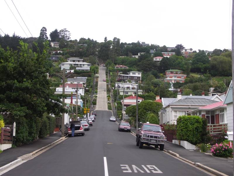 Baldwin Street, the worlds steepest street