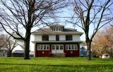 Fischer Farm House In The Spring
