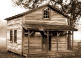 Fischer Farm Front of Cabin
