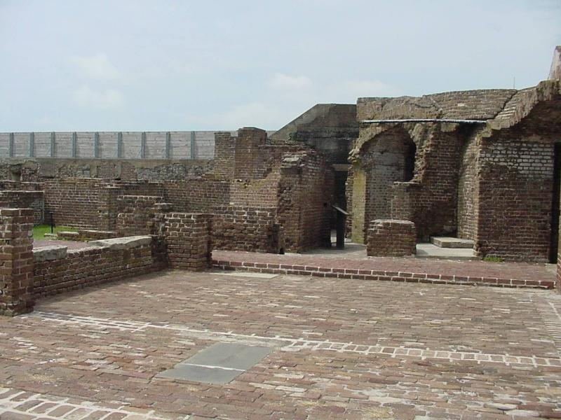 Remnants of the once vital fort