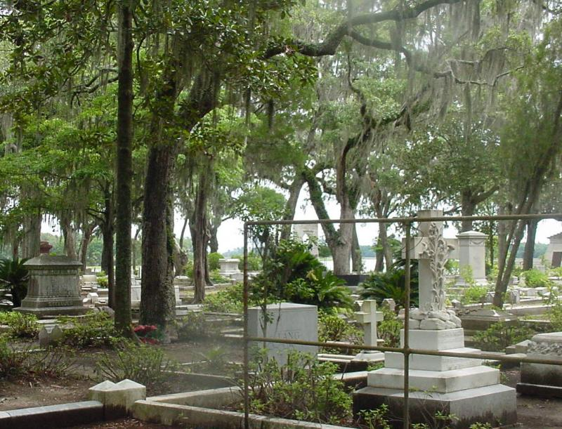 Another view of this old cemetery