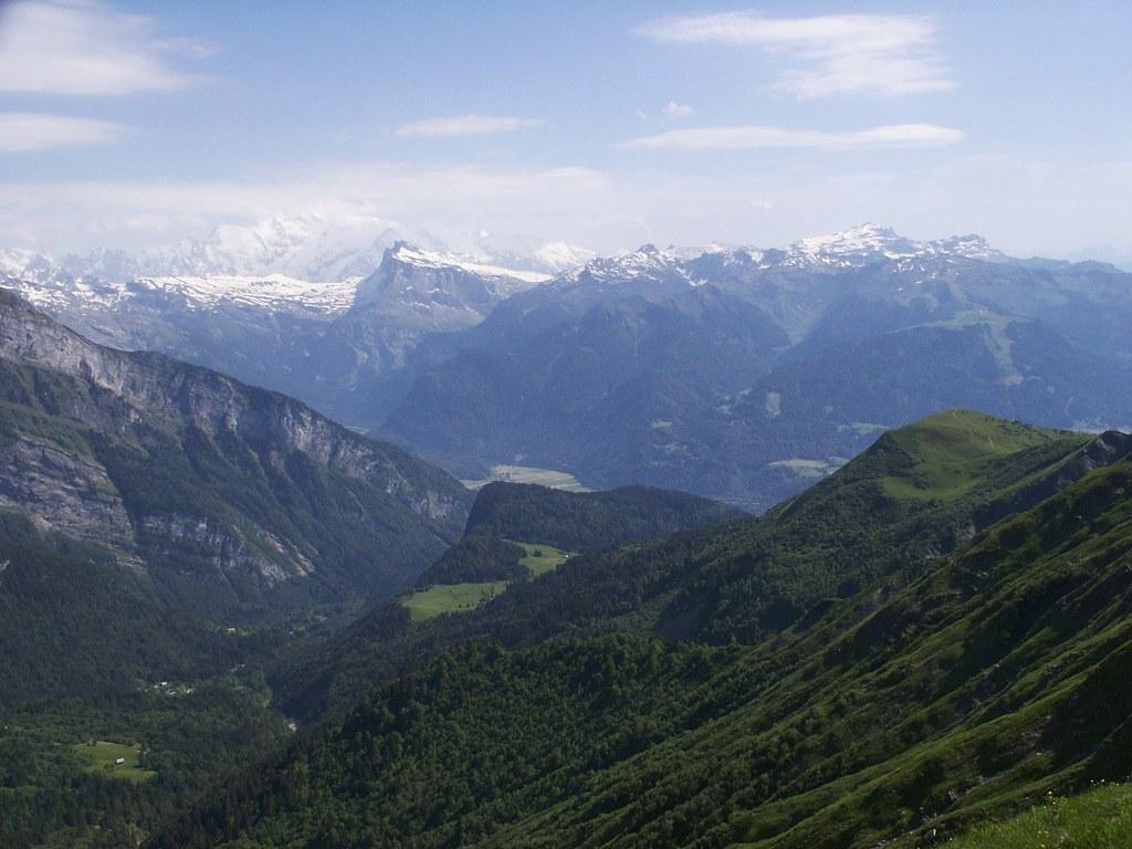 Mont Blanc & Dents de Plate
