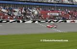 Rolex 24Hr Race Daytona Beach Feb 2002 ...the winning Dora Lista  crossing the line