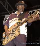 Bo Diddley playing at Bikeweek 2002
