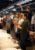 Daily Tuna Auction at the Tokyo Tsukiji Fish Market