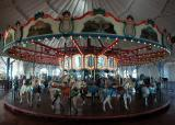 Carousel built in 1922 - Santa Monica Pier