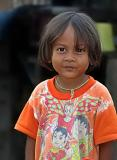 Thai gipsy girl, Phuket Island