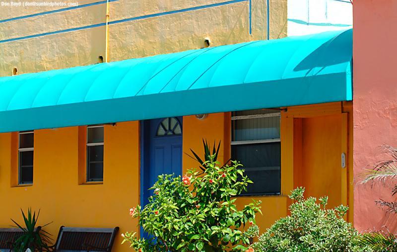 Motel on Hollywood Beach, FL