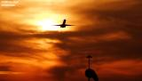 Sunsets and McDonnell Douglas DC9 and MD80 Stock Photos Gallery