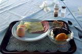Breakfast on Naxos, last day on the islands