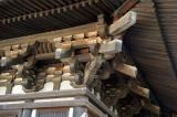 Detail of the 1426 pagoda at Kofuku-ji