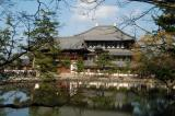 Todai-ji Temple is the home of the Buddhist Kegon sect