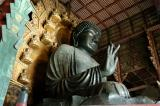 Largest bronze statue in the world, the Daibutsu weighs 437 tons.