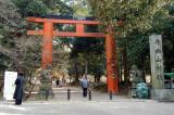 Gate in Nara Koen Park