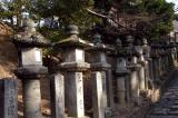 Stone Lanterns, Todai-ji Temple's eastern precinct