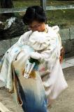 Newborn at the Kasuga Taisha Shrine