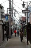 Narrow road in Nara