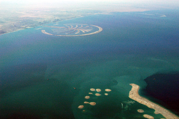 The World and Palm Jumeirah