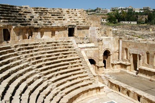 North Theatre, Jerash, 165 AD