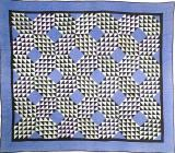 064:Ocean Waves-Holmes County, OH-January 1,1926 in quilting  75x65