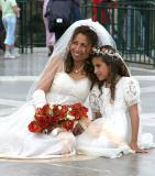 Bride on the Balcon