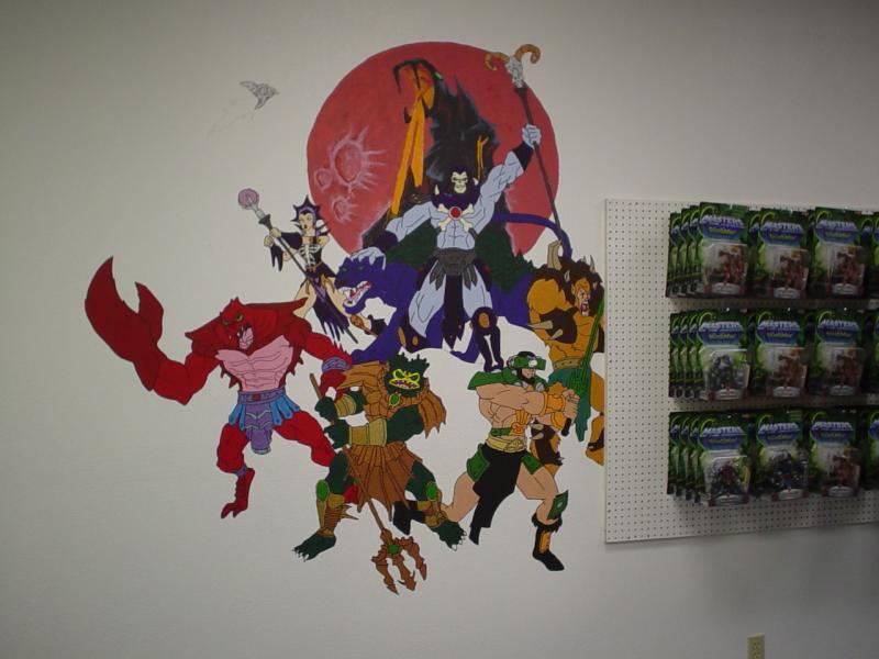 MOTU Mural