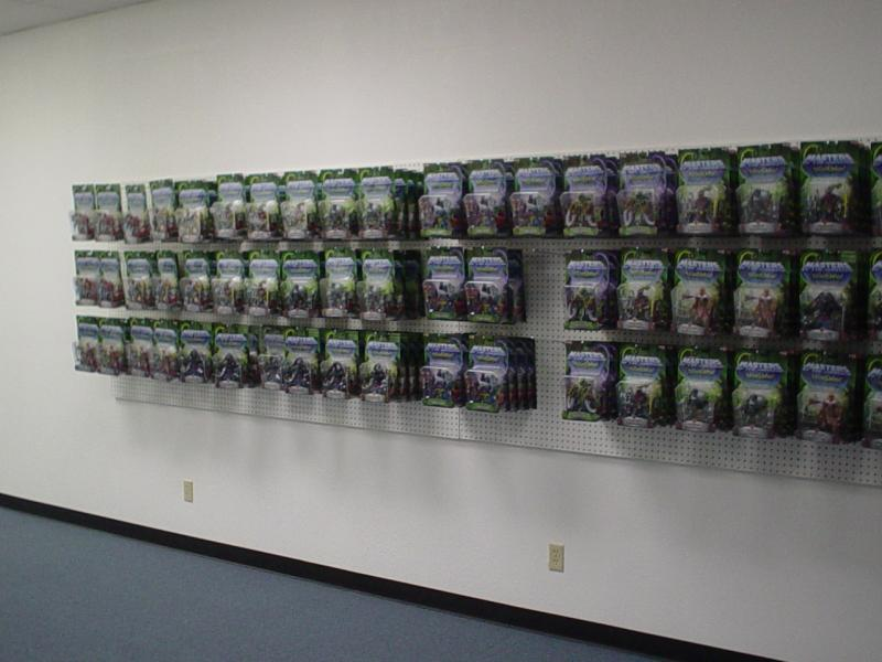 Right sales wall