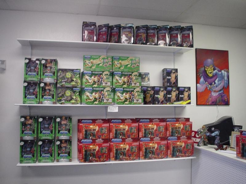 Left sales wall