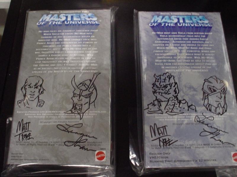 He-Man.org Complete Video Tape Set from 03 auction set 1 Back