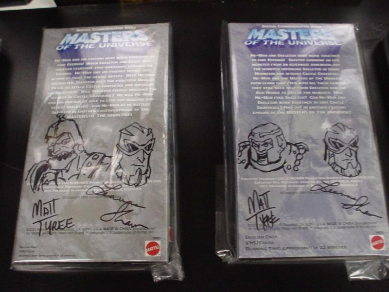 He-Man.org Complete Video Tape Set from 03 auction set 2 Back
