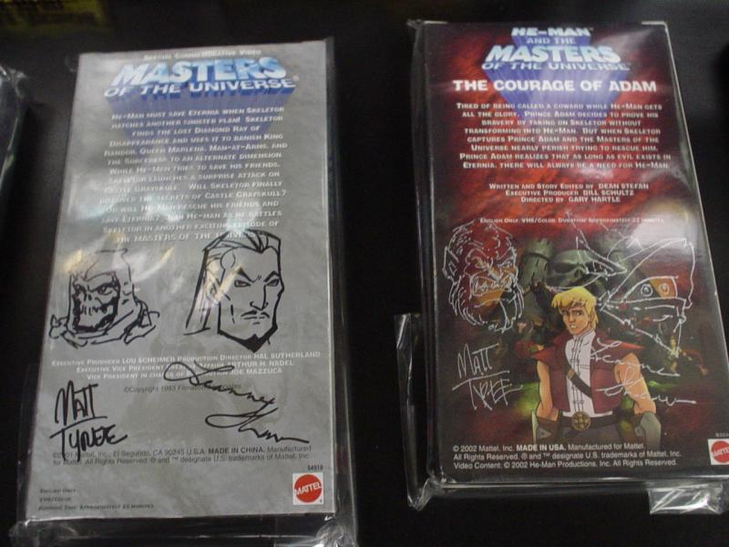 He-Man.org Complete Video Tape Set from 03 auction set 3 Back