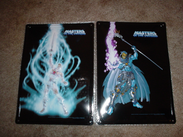 Wall tins from He-Man.org auctoin