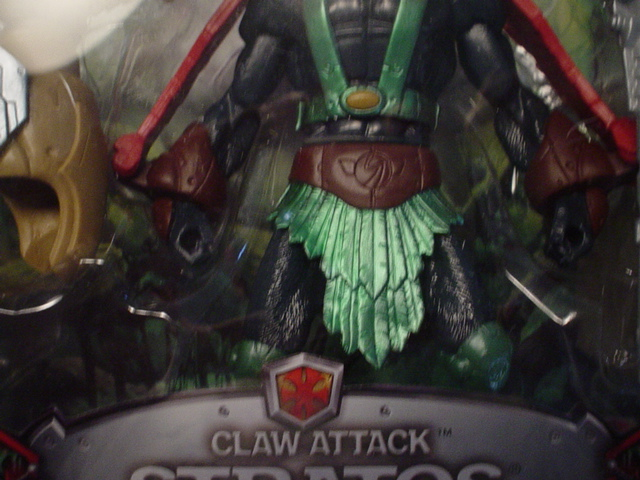 Chase Claw Attack Stratos with green knee pads