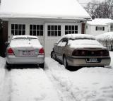 April 3 Snow Garage