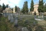 Bursa Muradiye tombstones and turbeler