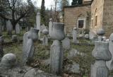 Bursa tombstones at Muradiye