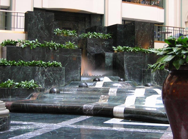 Curtis Center - Fountain