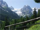 Rosenlaui (Wellhorn, Wetterhorn, Eiger - Bern)
