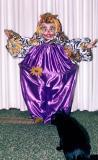 Eric in his clown costume