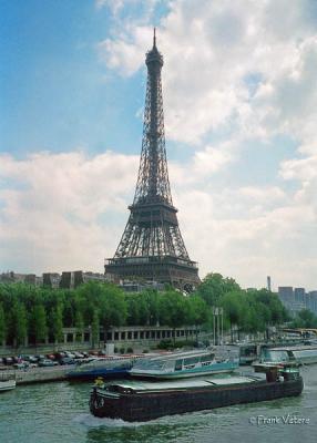 Eiffel Tower on Seine