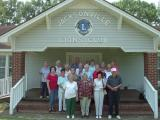 22 Merrymakers From College Ave Baptist Church Touring Old Jacksonville, Ga.
