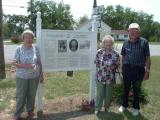 This Marker Tells of Great History Of The Willcox Family