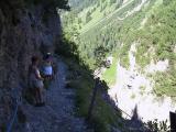 Kleinwalsertal - Widdersteinrundtour - Abstieg ins Gemsteltal