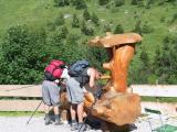 Kleinwalsertal - Erfrisschung am Hintere Gemstelhütte
