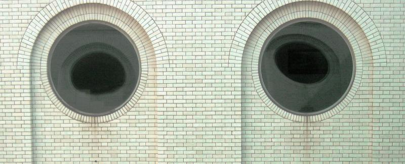 The eyes of the Mint Building<br>0992