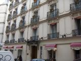 The front of Hotel des Balcons - our home for the next 5 nights